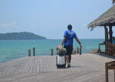 Private Jetty at Captain Hook, Koh Chang to Koh Kood by Boat (Koh Wai, Koh Maak)