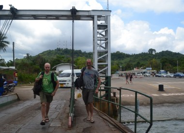 Boarding Ferry at Trat to Koh Chang, Travel in Eastern Thailand