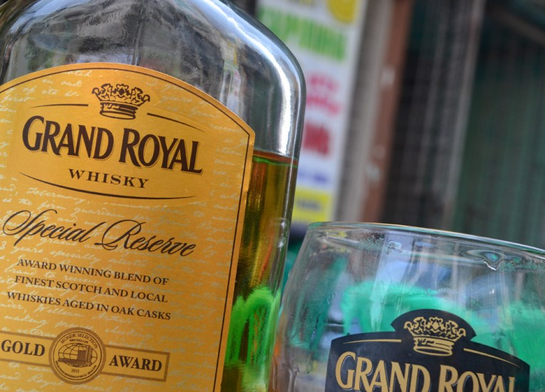 Grand Royal Whisky in Myanmar, Best Beers and Alcohols in Asia