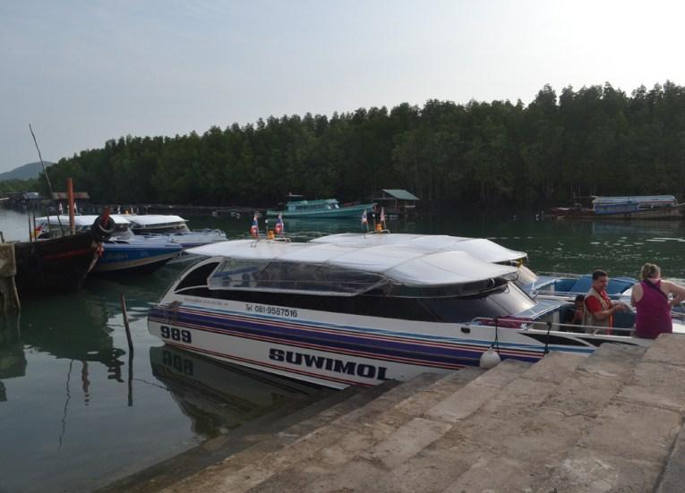 Bang Rong Pier in Phuket, Santhiya Koh Yao Yai Resort Pool Villas, Thailand