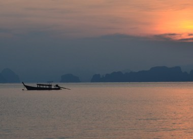 Morning Sunrise in Phang Nga, Travel to Koh Yao Yai from Phuket Airport