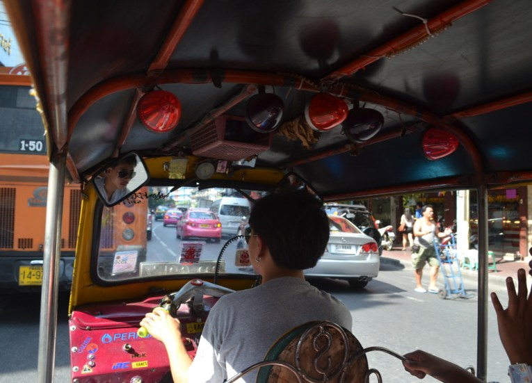 Tuk-Tuk in Chinatown, Weekend in Bangkok 2 Days Itinerary Thailand