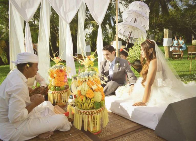 Wedding in Ubud, c