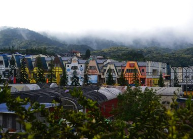 Brinchang Town Center, Cameron Highlands Resort, Malaysia