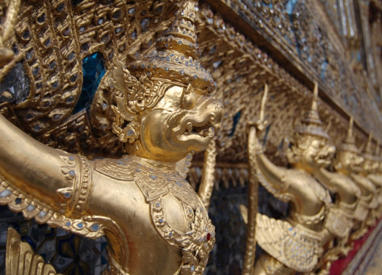 Golden Statues at Grand Palace, Top 10 Bangkok Attractions, Experiences Thailand