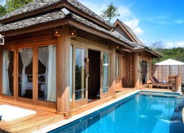 One Bedroom Pool Villa, Santhiya Koh Yao Yai Resort Pool Villas, Thailand