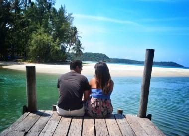 Relaxing at Beach View Pavilion. Captain Hook Resort Koh Kood, Travel Thailand
