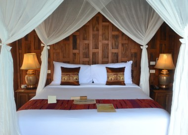 Bedroom Overlooking Swimming Pool, Santhiya Koh Yao Yai Resort Pool Villas, Thailand
