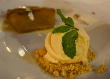 Pumpkin in Syrup and Icecream, Santhiya Koh Yao Yai Resort Pool Villas, Thailand