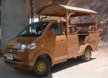 Resort Transport Shuttle Car, Santhiya Koh Yao Yai Resort Pool Villas, Thailand