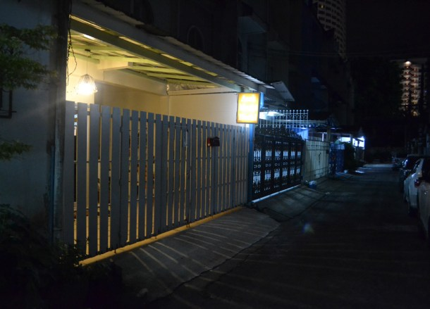 Asoke Montri Hostel at Night, My First Hostel Experience in Bangkok Thailand
