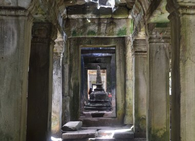 Inside Preah Khan Temple, Introduction to Angkor Wat Two Day Tours