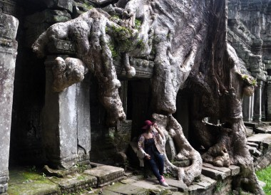 Tree Roots at Preah Khan, Introduction to Angkor Wat Two Day Tours