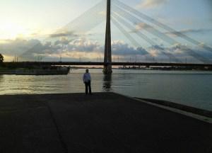 Vanšu Bridge in Riga, Backpacking Parents, My Travel Inspiration
