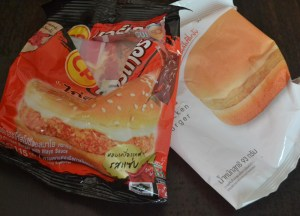 7/11 CP Chicken Burgers, Suriving Power Outages in Bangkok