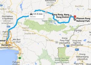 Bangkok to Phanom Rung, Isaan Tours and Phanom Rung Thailand
