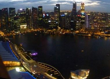 City View at Night. Best Thai VISA Runs from Bangkok Thailand