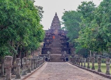 Prasat Phanom Rung Historical Park (Buriram Isaan Thailand)