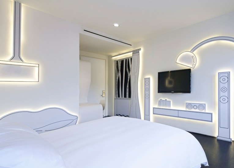 Best Design Boutique Hotels in Singapore, Minimal Bedrooms