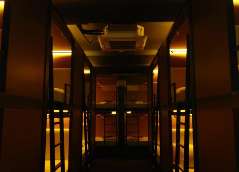 Best Design Boutique Hotels in Singapore, Chic Capsule Otel