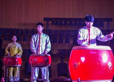 Drum Tower Performance, Top Attractions in Xian China (Shaanxi)