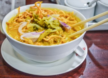 Khao Soi Curry, Top Bangkok Street Food, Thailand Cheap Eats