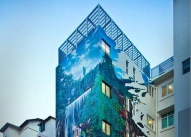Best Design Boutique Hotels in Singapore, Hotel Wall Art