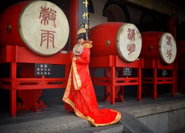 Traditional Chinese Dress, Top Attractions in Xian China (Shaanxi)