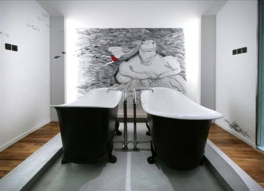 Best Design Boutique Hotels in Singapore, Double Bathtubs