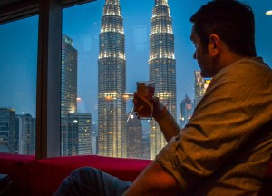 Petronas Towers Views, Decisions Travelling as a Couple in Asia