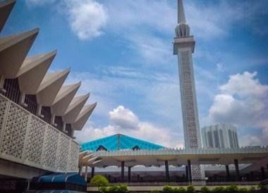 Malaysia National Mosque, Top 10 Attractions in Kuala Lumpur Malaysia