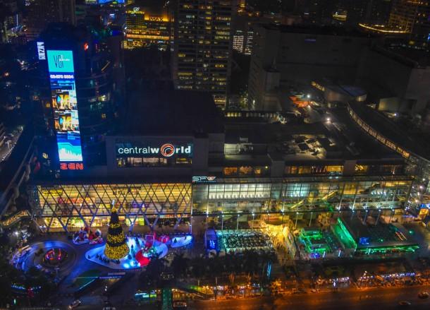 Central World Views, Intercontinental Hotel Bangkok Review, Chit Lom