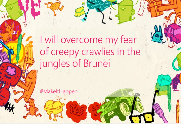 Overcoming Fear, Microsoft Lumia #makeithappen