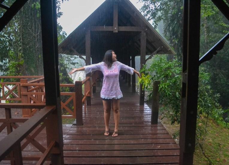 Monsoon Season, Ulu Ulu Resort, Temburong National Park Brunei Borneo