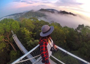 Gopro Views, Ulu Ulu Resort, Temburong National Park Brunei Borneo