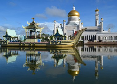 Iconic Brunei Temple, Top Attractions in Brunei Tourist Areas
