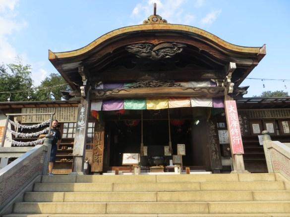 Front Entrance, Tamagawa Daishi Temple, Tokyo, Justin Egli