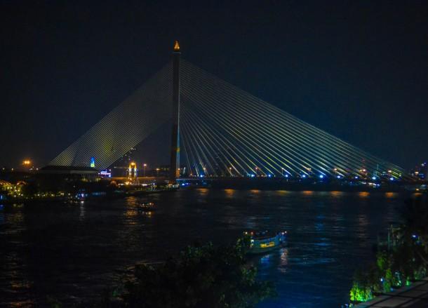 Rama 8 Bridge, Riva Surya Boutique Hotel, Bangkok Riverside, Phra Athit