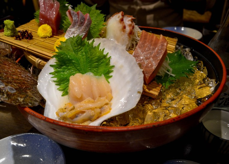 Sashimi Set, Things to do in the Sendai Station Area Nightlife