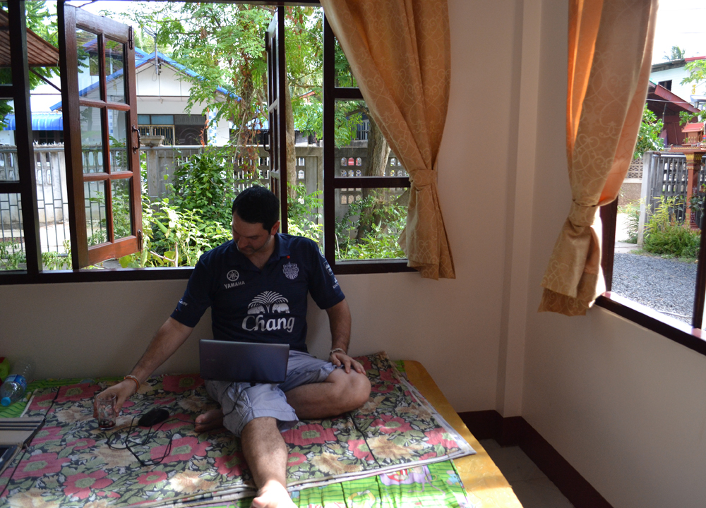 Digital Nomad Working from Thailand