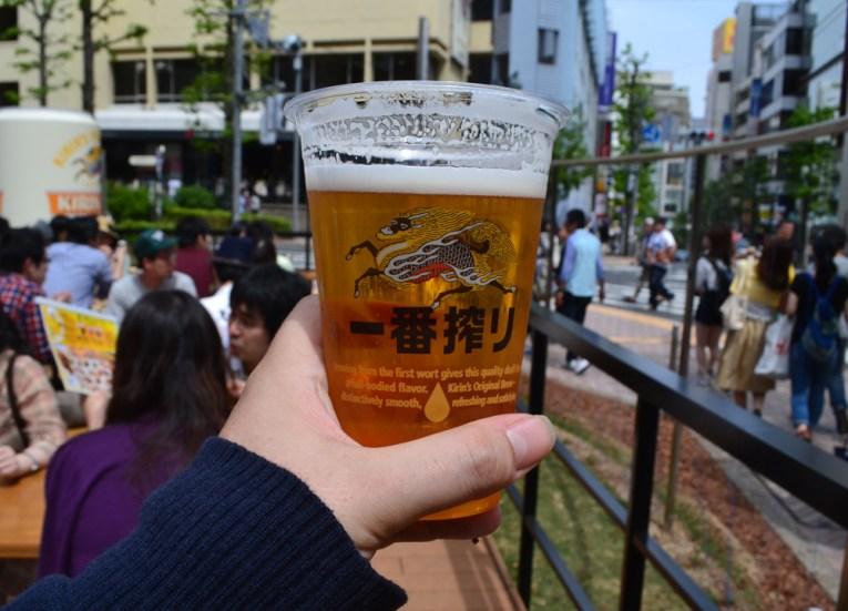 Kirin Beer Garden, Best Themed Cafes and Restaurants in Tokyo