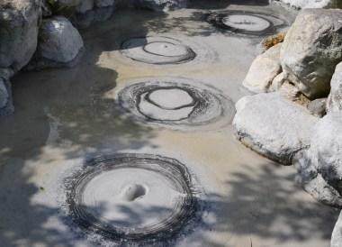 Bubbling Clay Pits, 8 Hells of Beppu by JR Pass, Japan Travel