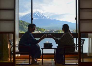 Ryokan Hotel, Travel to Mount Fuji Shibazakura Flower Festival