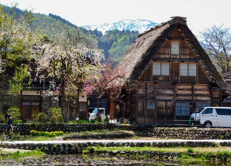 Takayama Village, Travel to Shirakawa-go Unesco Village in Spring