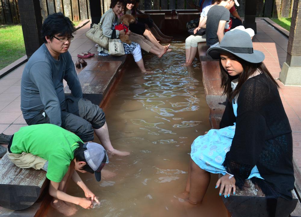 Free Foot Spas, 8 Hells of Beppu by JR Pass