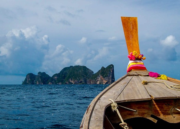 Long Tail Boat, Best Ko Phi-Phi Tours from Phuket, Maya Bay Beach
