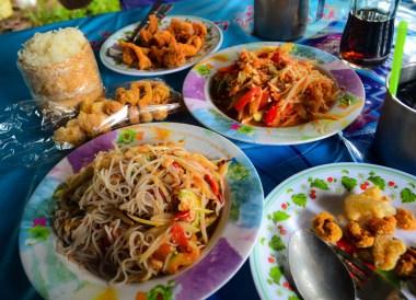 Traditional Thai, Best Som Tam Papaya Salad Thai Food