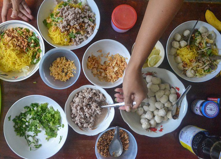 Deconstructed Soup, Thai Noodle Soups in Thailand