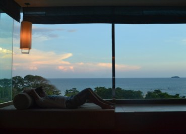 Seaview Windows, Rayong Marriott Hotel, Best Beach Seafood
