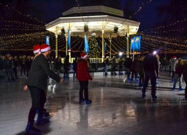 Ice Skating, Hyde Park InterContinental London Park Lane